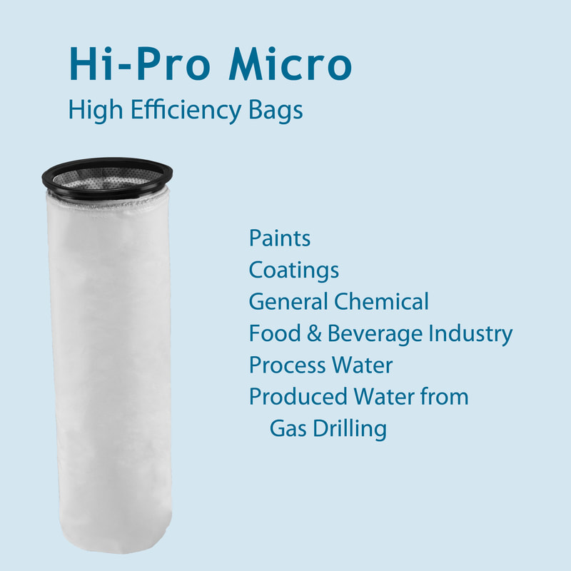 Filter, liquid filtration, cartridges, Strainrite, filter bag, hpm, hi-pro micro, high performance