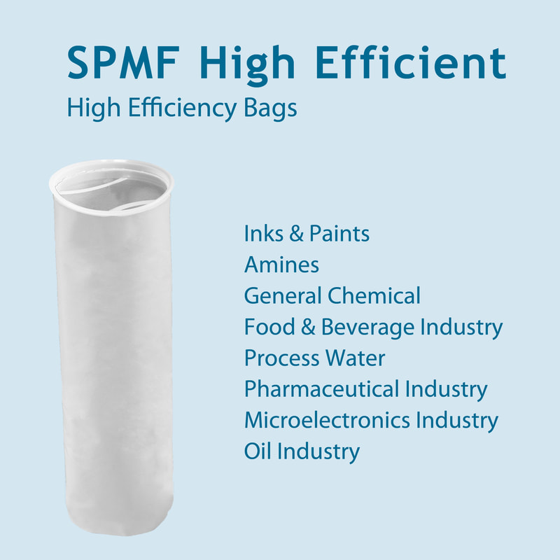 Filter, liquid filtration, cartridges, Strainrite, filter bag, spmf, high efficient, absolute-rated