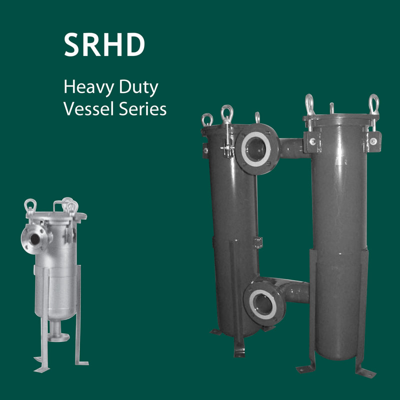 Filter, liquid filtration, Strainrite, filter vessels, vessels, housing, madd maxx, srhd, heavy duty, twin, duplex